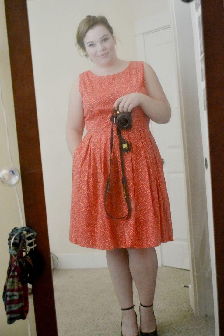 Первое представление!  Платье: JCPenny (US16) $ 36 Обувь: DSW обувь (US9) $ 55 redlotusrise.tumblr.com