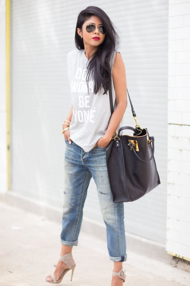 How To Style A Muscle Graphic Tee
