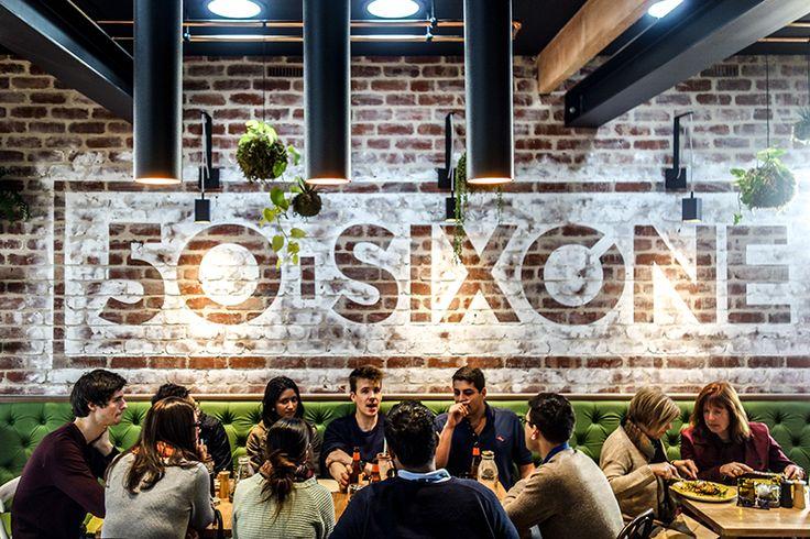50Sixone - Adelaide . Great desert bar