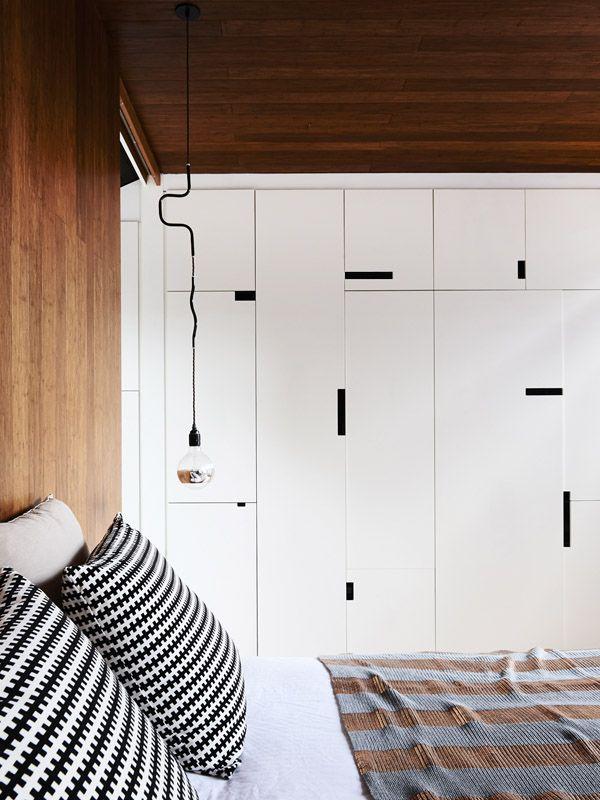 Melbourne Home - Kim Victoria Wearne and Stuart Beer #bedroom