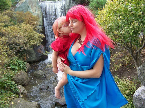 Ponyo and her mother