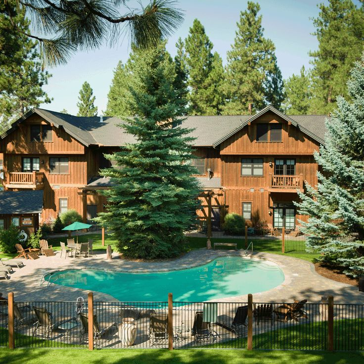 FivePine Lodge & Conference Center is located in the heart of Central Oregon and offers romantic cabins and lodge suites, and a beautiful conference center.