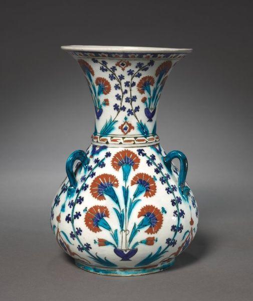Mosque Lamp, 1585-1595 Turkey, Ottoman Period