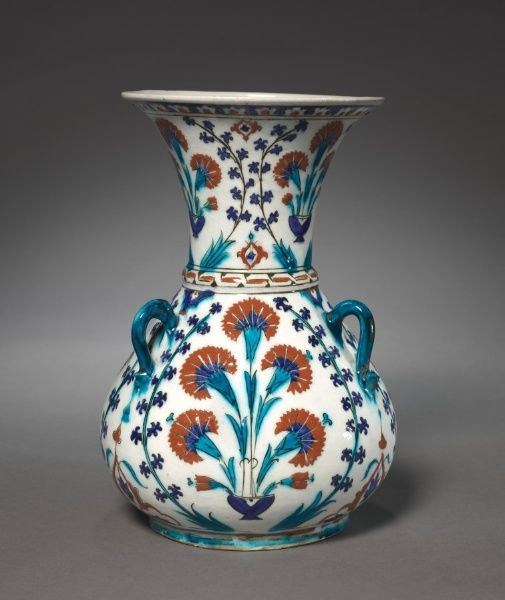 Mosque Lamp, 1585-1595 Turkey, Ottoman Period