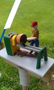 Woodturning Whirligig