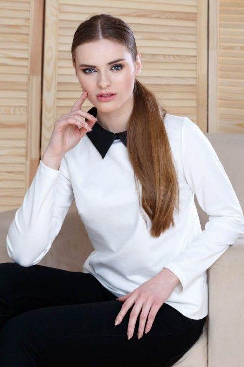 Bluza lejera cu guler: O poți atribui unei ținute office sau casual, te vei simți confortabil pe tot parcursul zilei și vei primi admirația cuvenită.
