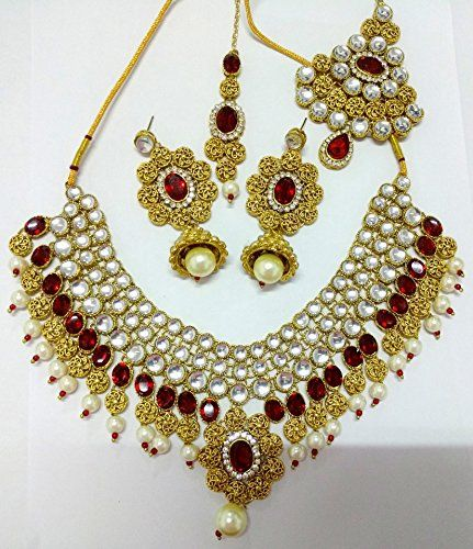Indian Bollywood Gold Plated Red Stone Pearls Kundan Neck... https://www.amazon.ca/dp/B01N4CD4PW/ref=cm_sw_r_pi_dp_x_E3ROyb4APVMH2