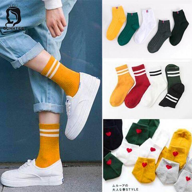 School Students Harajuku Funny Socks Women Various Colors