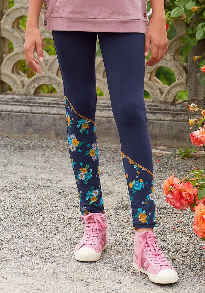Pin By Penny Warner On Girls Combo Pants Girls In Leggings Matilda Jane Clothing Navy Floral