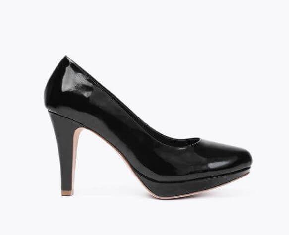 ♥︎ Sargossan Classic stiletot värissä black