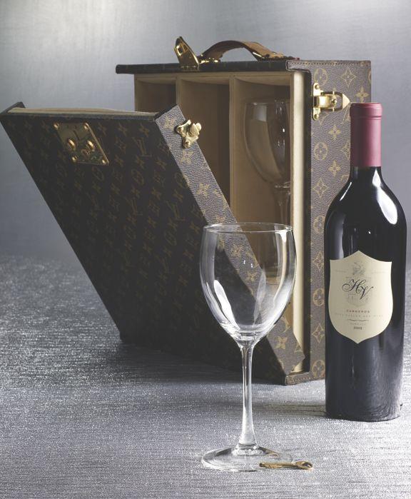 Louis Vuitton wine trunk