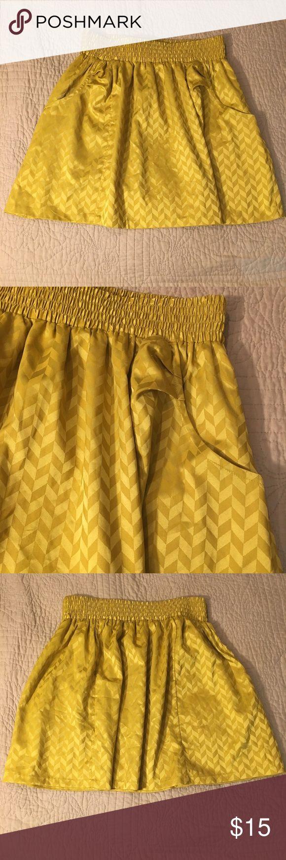 Pattern Yellow And Navy Chevron