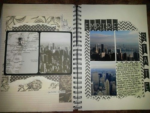 smileswithoutfaces:  my travel scrapbook :)