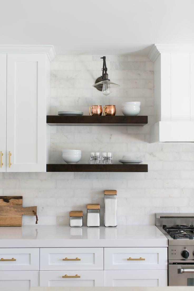 Modern Farmhouse Kitchen Backsplash 611 Best Kitchens Images On Pinterest  Beautiful Kitchens Dream