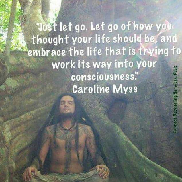 Inspiring quote by bestselling author, Caroline Myss | Words to live by | Motivational quotes by famous authors