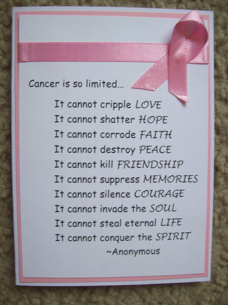 Breast Cancer Card - Scrapbook.com