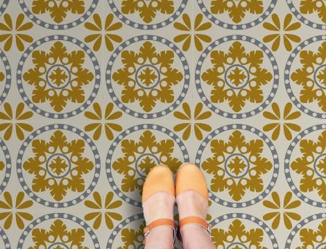 Sorzano Vinyl Flooring: Retro Vinyl Floor tiles for your home 19.99 GBP / m²