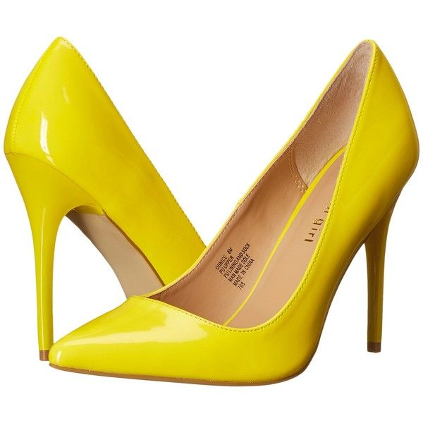 1000  ideas about Yellow High Heels on Pinterest | Beautiful shoes ...