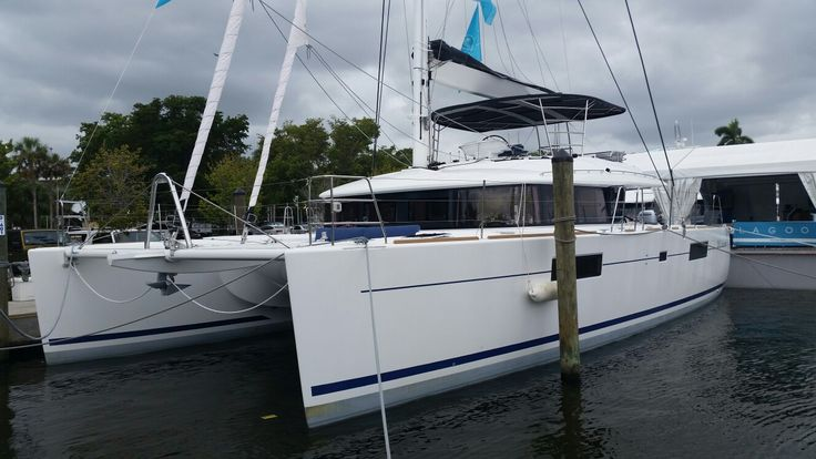 Lagoon 560 Imagine at FLIBS 2016 Fort Lauderdale International Boat Show sail catamaran yacht broker caroline.laviolette@catamarans.com