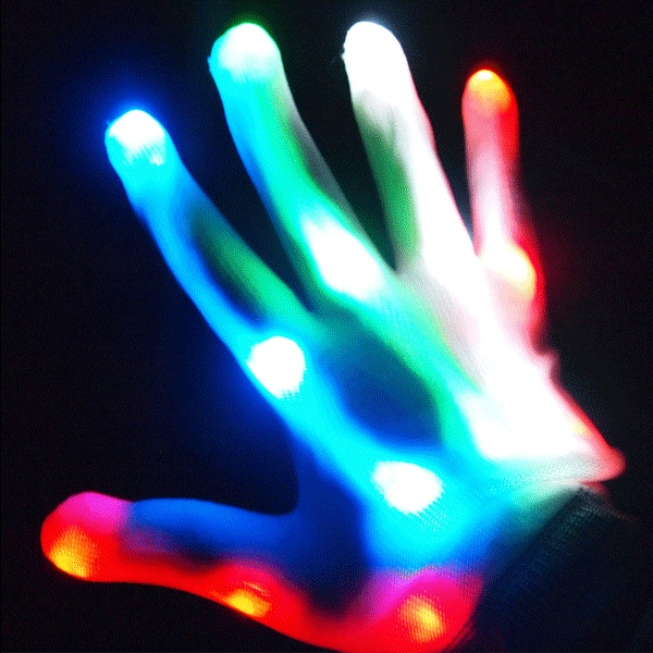 Light Up Gloves What A Bright Idea Great For Kids