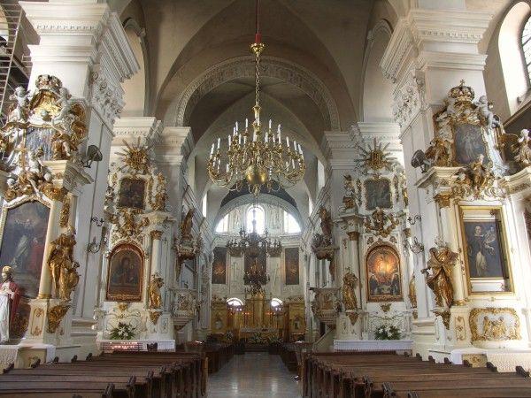 Wnętrze kościoła dominikanów w Lublinie. #dominikanie #klasztor #kościół #lublin