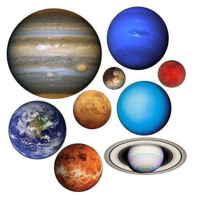 vinces new idea a space themed bedroom planets of our solar system vinyl wall