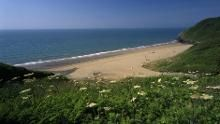 Penbryn beach....on my list of beaches to visit