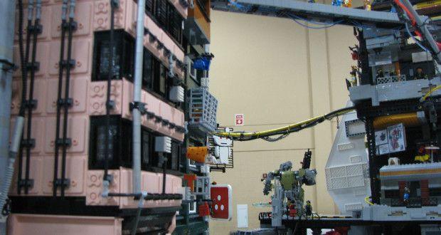 Cyberpunk, μια πόλη του μέλλοντος από Lego | Verge