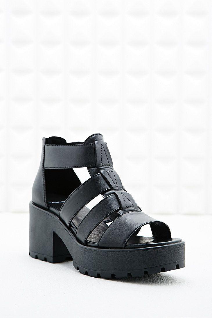 Black vagabond sandals - Vagabond Dioon Gladiator Peep Toe Heeled Sandals In Black