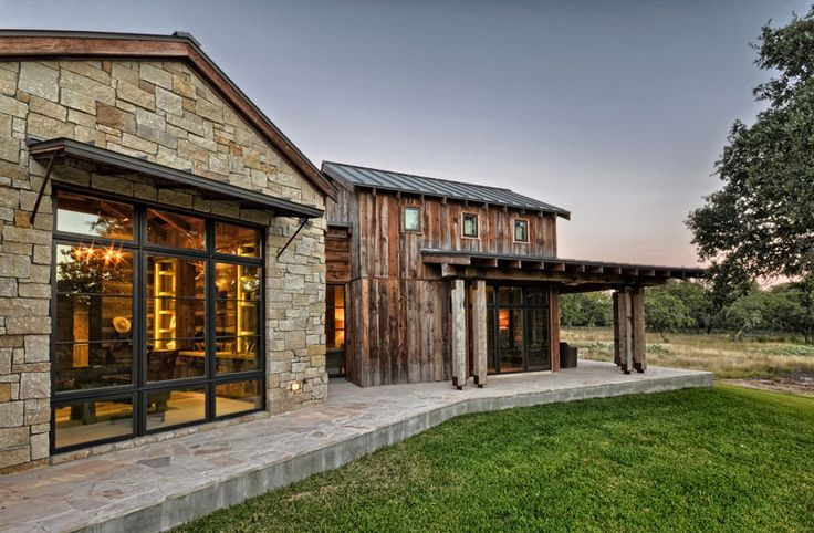 441 best exterior houses images on pinterest arquitetura - Rustic modern farmhouse exterior ...