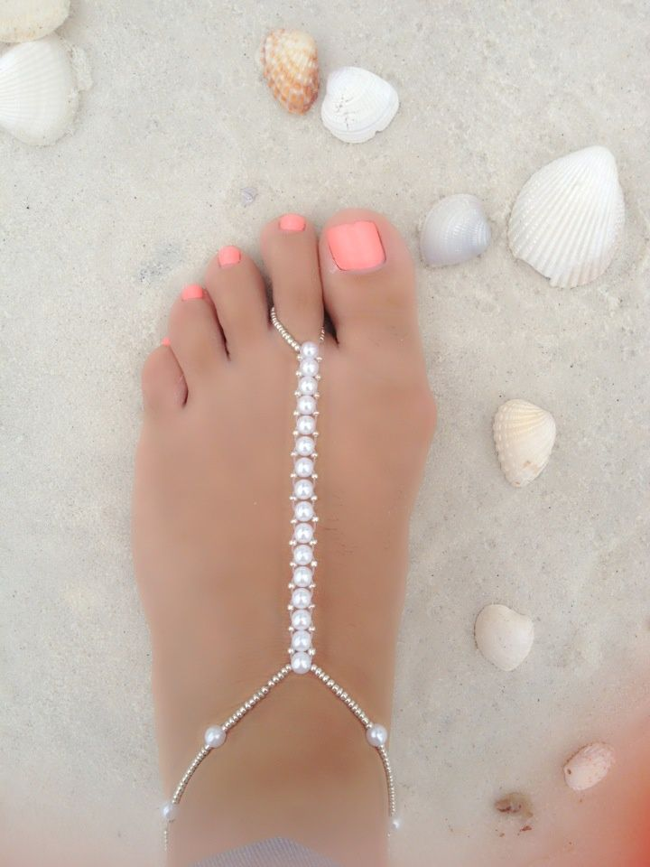 Diy Ankle Bracelets Hand Made Bracelet S And Toe Rings Jewelry Pinterest