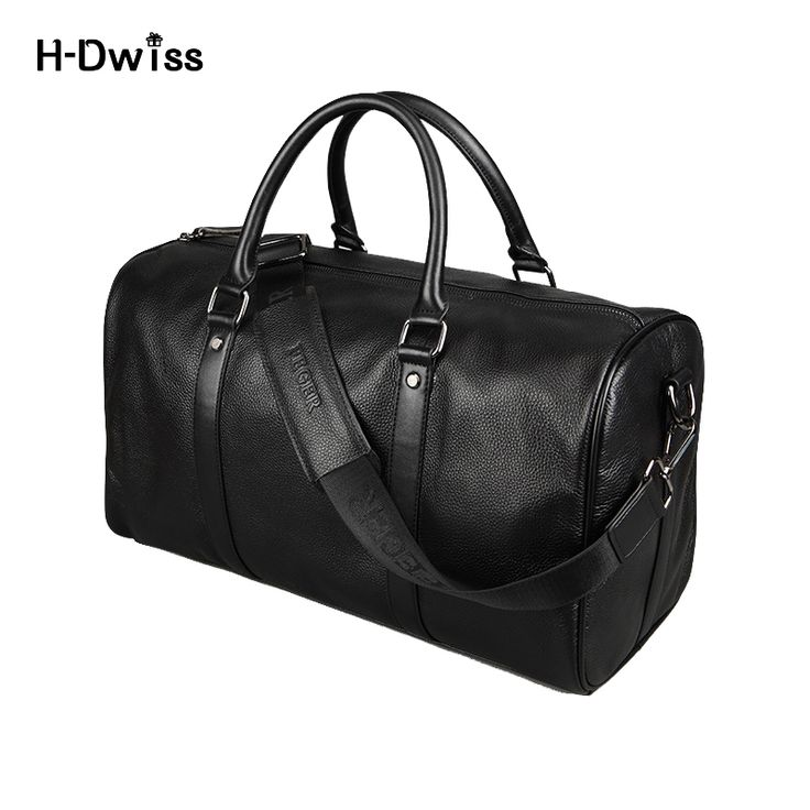 Genuine Leather Men Women Luggage Travel Bags Duffel Duffle Bag Carry on Hand Luggage Trolley Bag Packing Cubes High Quality