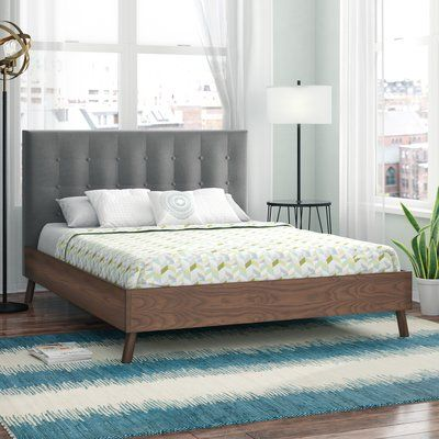 Foundstone Alaina Tufted Platform Bed Headboard Inspiration Furniture Diy Pallet Sofa