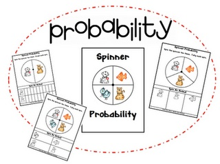 Probability-spinners and dice