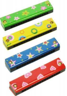 Bigjigs Toys detské hudobné nástroje - Harmonika