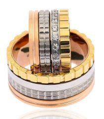 Çelik Çift Alyans Lovering 519