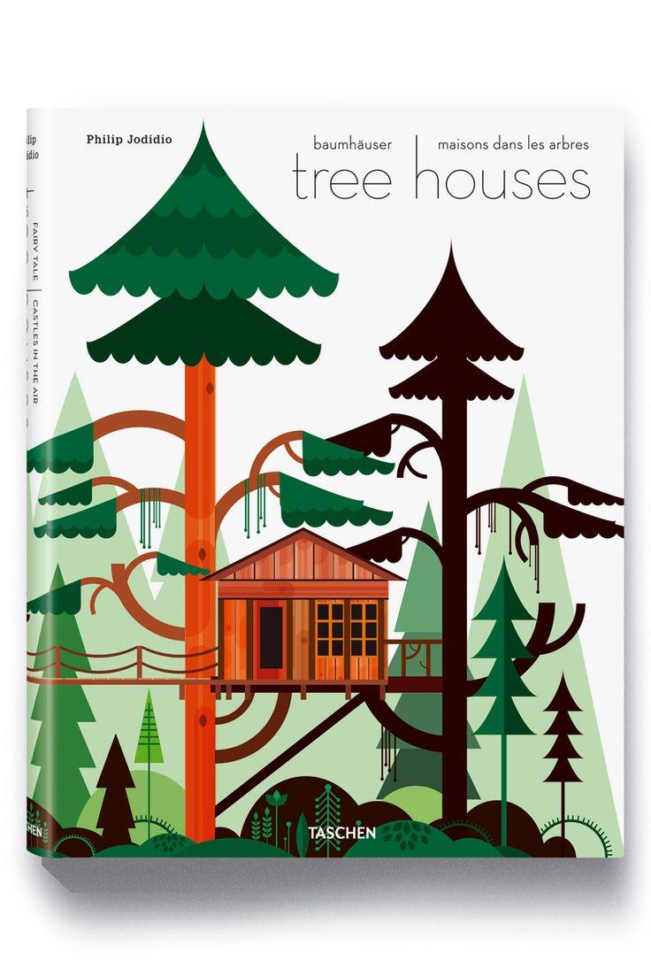 tree houses book - taschen