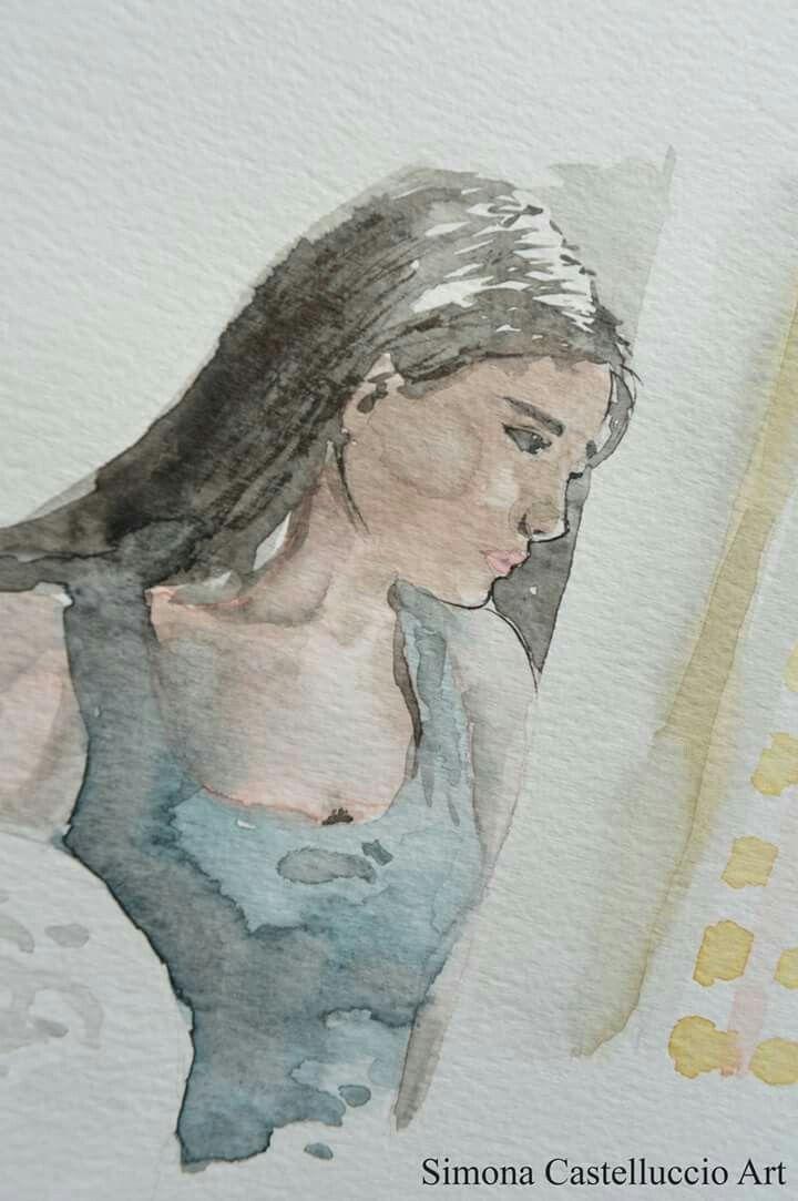 #watercolors #watercolorpainting #detail #illustration #illustrationart #illustratorsoninstagram #illustrationoftheday #art #artoftheday #photooftheday #sketch #winsorandnewton  #girlanatomy #girl