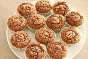 Carrot cupcakes van bijv. boekweitmeel of kastanjemeel