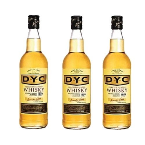 Whisky Dyc 70 Cl 40º - LOT DE 3