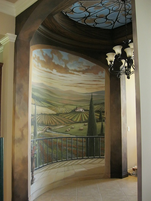 158 Best Tuscany Images On Pinterest Mural Painting