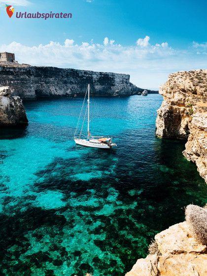 Malta Reisetipps: Blaue Lagune auf der Insel Comino
