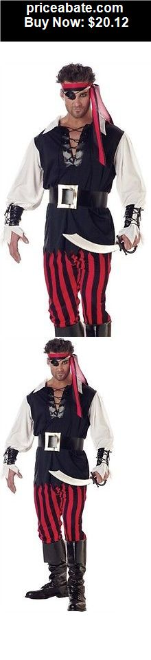 Men-Costumes: New Mens Male Halloween Costume Pirate Suit Outfit - BUY IT NOW ONLY $20.12