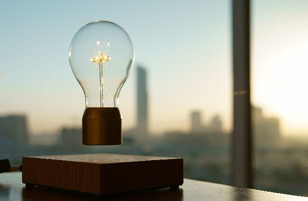 flyte lampe lévitation lampe qui vole par simon Morris décoration d ...