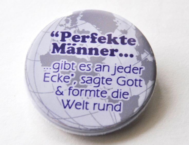 Button Perfekte Männer