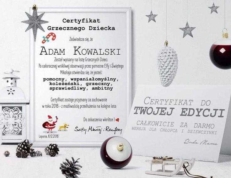 Kochani list do Mikołaja a kto by nie chciał zeby Mikołaj odpisał?! No to hop do bio I ściągamy list i certyfikat  Kto sciagal proszę bardzo się przyznać  #mikolaj #santa #grzecznedzieci #gwiazdka #mikolaj #święta #bozenarodzenie #bożenarodzenie #freebies #darmowki #printables #christmas http://ift.tt/2gqurAh