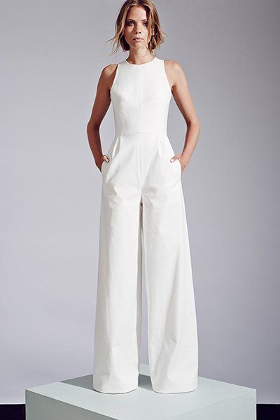 Sleeveless wide-leg jumpsuit by Novis. Diggin the pants