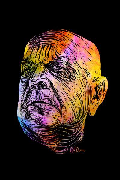 Rainbow Sibelius Art Print