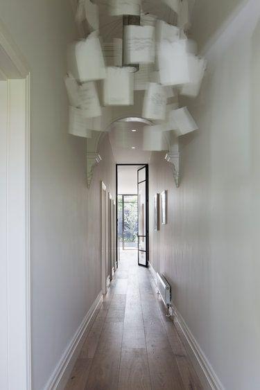hallway lighting. hallway light large black framed glass door lighting