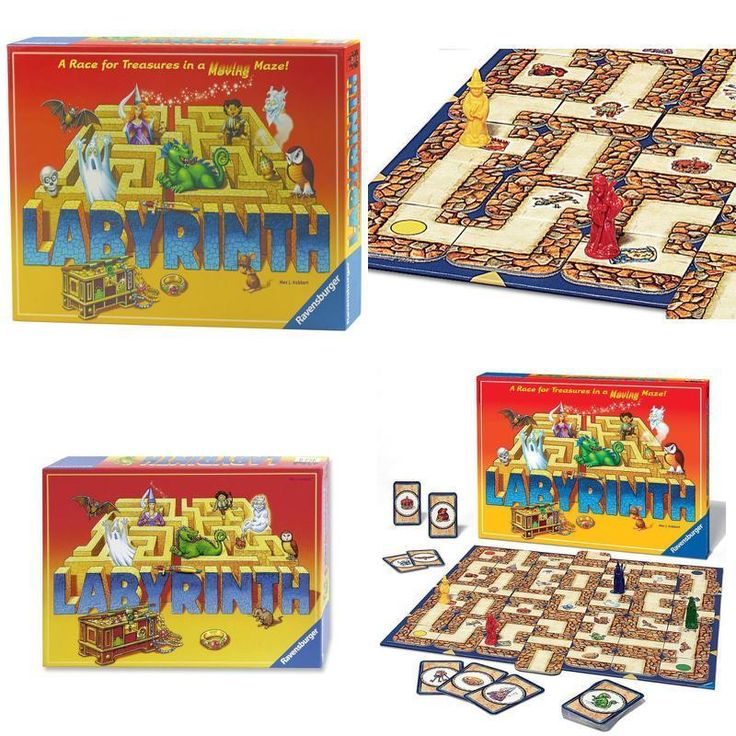 NEW Labyrinth Game Board Family Sealed Maze Amazing Card Play Xmas Best Gift Toy #Ravens #Custom
